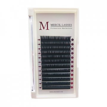 0.07 D curl 13mm Volume eyelash extension