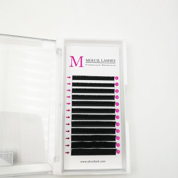 0.12 D curl mixed classic eyelash extension