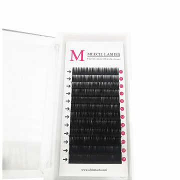 0.20 D curl mixed classic eyelash extension