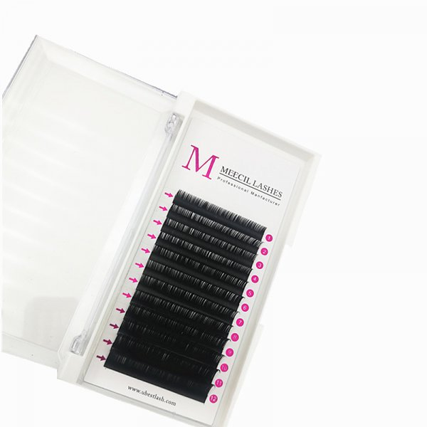 0.15 C curl mixed classic eyelash extension ()