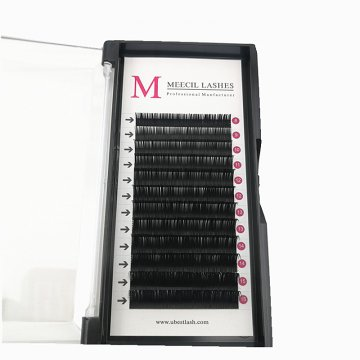 0.20 cc curl mixed classic eyelash extension
